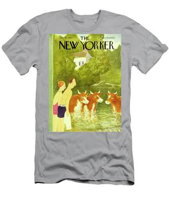 New Yorker July 10th 1943 Men's T-Shirt (Athletic Fit)