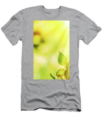 Summer Sun V Men's T-Shirt (Athletic Fit) by Anne Leven
