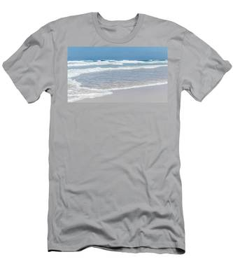 Men's T-Shirt (Athletic Fit) featuring the photograph Summer Wave I by Anne Leven