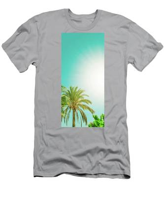 Sunny Paradise V Men's T-Shirt (Athletic Fit) by Anne Leven