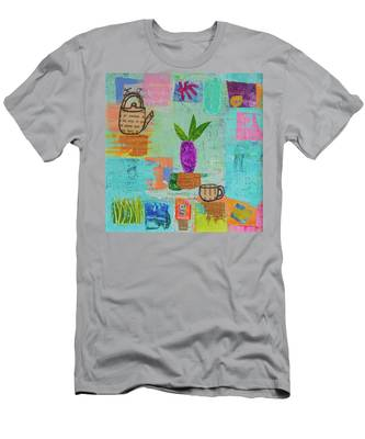 The Art Of Tea Two Men's T-Shirt (Athletic Fit)