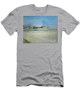 The Channel Of Gravelines Grand Fort Philippe Men's T-Shirt (Athletic Fit)