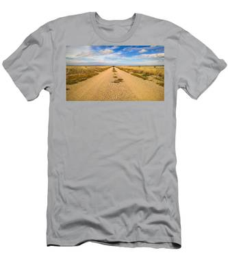 Men's T-Shirt (Athletic Fit) featuring the photograph Vanishing Point by Carl Young