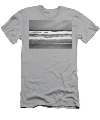 Men's T-Shirt (Athletic Fit) featuring the photograph Vintage Coast II by Anne Leven