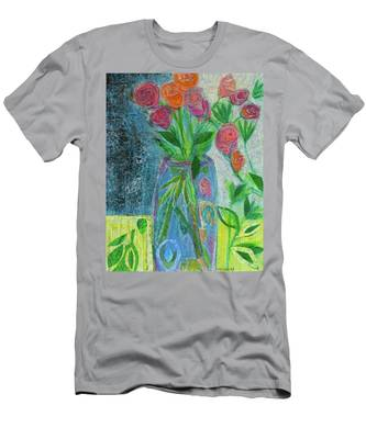 A-rose-atherapy Men's T-Shirt (Athletic Fit)