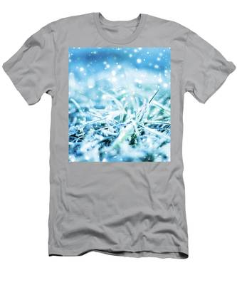 Winter Glow Men's T-Shirt (Athletic Fit) by Anne Leven