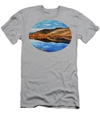 Wonderland Lake Men's T-Shirt (Athletic Fit)
