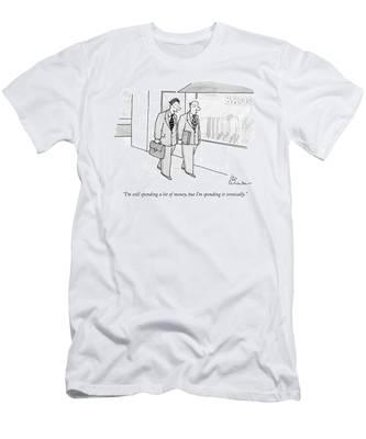 I'm Still Spending A Lot Of Money Men's T-Shirt (Athletic Fit)
