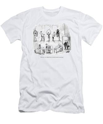 And This Is Our Department Of Experimental Men's T-Shirt (Athletic Fit)