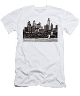 Center City Philadelphia Men's T-Shirt (Athletic Fit)