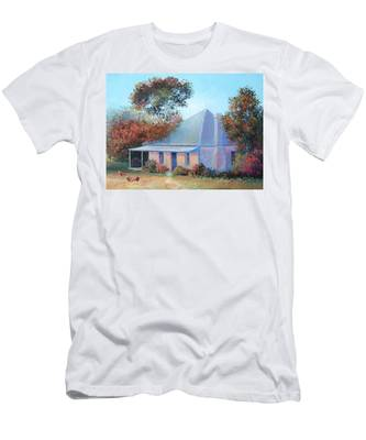 The Old Farm House Men's T-Shirt (Athletic Fit)