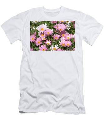 Daisies Men's T-Shirt (Athletic Fit) by Michael Goyberg