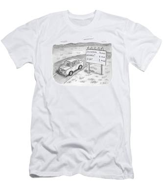 New Yorker August 1st, 2016 Men's T-Shirt (Athletic Fit)