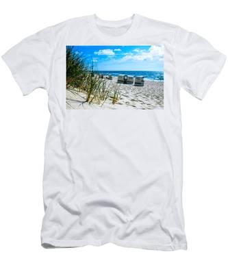 Behind The Dunes -light Men's T-Shirt (Athletic Fit)