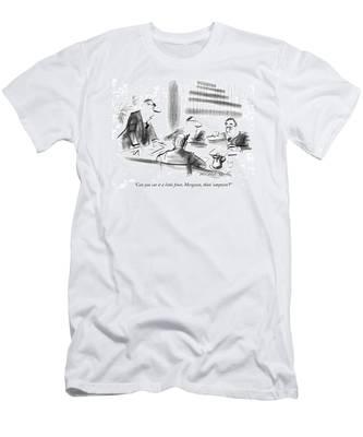 Can You Cut It A Little Finer Men's T-Shirt (Athletic Fit)