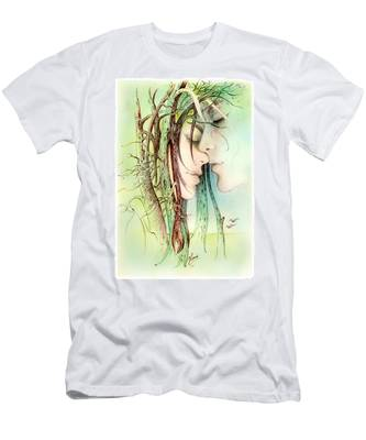 Encounter  From Love Angels Series Men's T-Shirt (Athletic Fit)