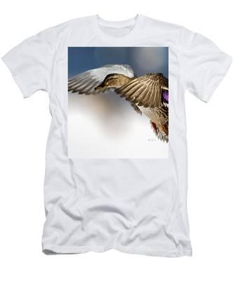 Flight Of The Mallard Men's T-Shirt (Athletic Fit)