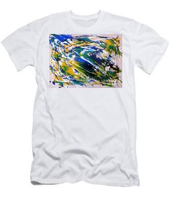 Flying Bird Men's T-Shirt (Athletic Fit)