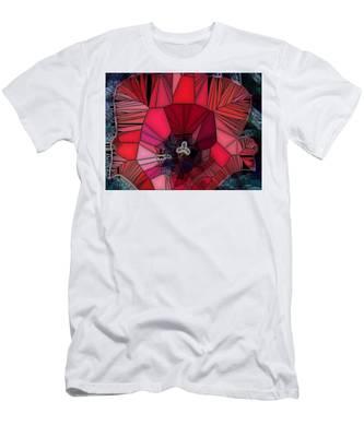 Fragile Flower Men's T-Shirt (Athletic Fit)