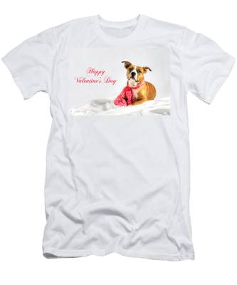 Fifty Shades Of Pink - Happy Valentine's Day Men's T-Shirt (Athletic Fit)