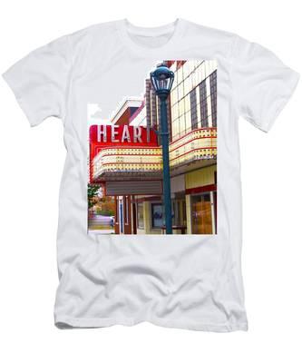 Heart Theatre Effingham Illinois  Men's T-Shirt (Athletic Fit)