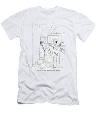 Here It Is - The Plain Men's T-Shirt (Athletic Fit)