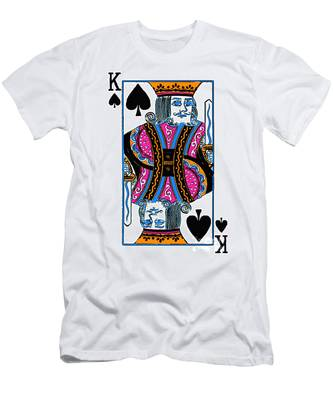 King Of Spades - V3 Men's T-Shirt (Athletic Fit)