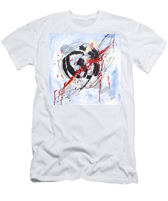Musical Abstract 002 Men's T-Shirt (Athletic Fit)