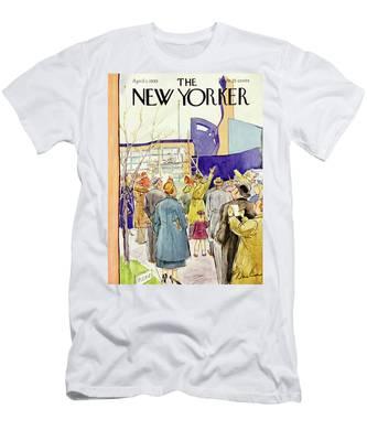 New Yorker April 1 1939 Men's T-Shirt (Athletic Fit)