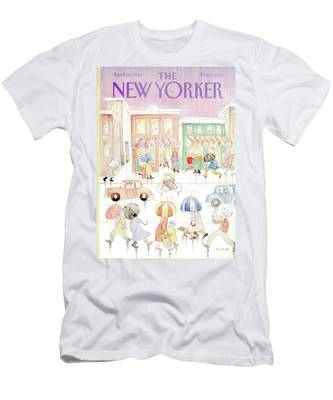 New Yorker April 16th, 1984 Men's T-Shirt (Athletic Fit)
