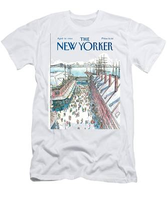 New Yorker April 30th, 1984 Men's T-Shirt (Athletic Fit)