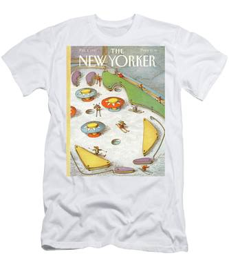 New Yorker February 4th, 1991 Men's T-Shirt (Athletic Fit)