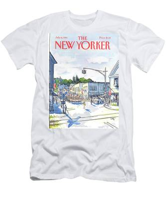 New Yorker July 6th, 1981 Men's T-Shirt (Athletic Fit)