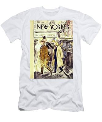 New Yorker November 5 1938 Men's T-Shirt (Athletic Fit)
