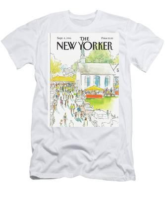 New Yorker September 8th, 1986 Men's T-Shirt (Athletic Fit)