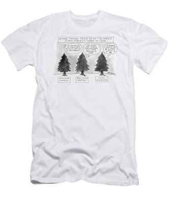 Other Things Trees Do In The Forest When Nobody's Men's T-Shirt (Athletic Fit)