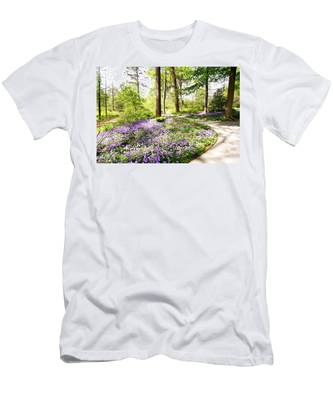 Path Of Serenity Men's T-Shirt (Athletic Fit)