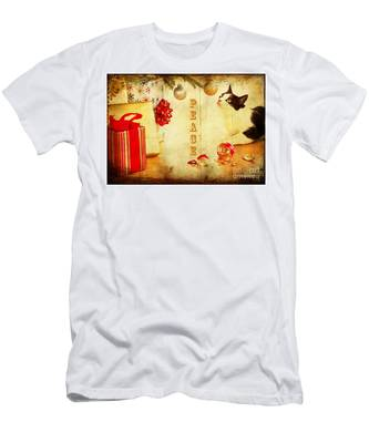 Peace And Joy To All Men's T-Shirt (Athletic Fit)