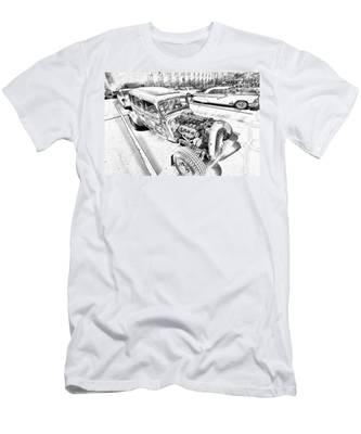 Pencil Rod Men's T-Shirt (Athletic Fit)