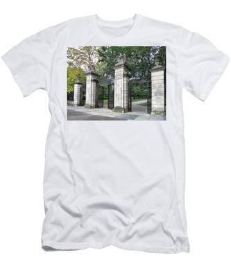 Princeton University Main Gate Men's T-Shirt (Athletic Fit)