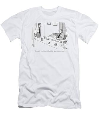 Remember To Round Each Billable Hour Men's T-Shirt (Athletic Fit)