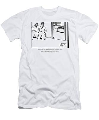 Sometimes It's Important To Stop Whatever Break Men's T-Shirt (Athletic Fit)