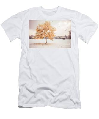 Still Dressed In Fall Men's T-Shirt (Athletic Fit)
