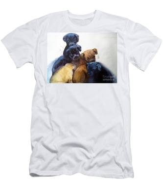 Stray Puppies Men's T-Shirt (Athletic Fit)