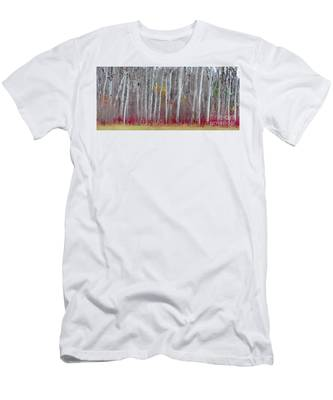 The Birches Panorama  Men's T-Shirt (Athletic Fit)
