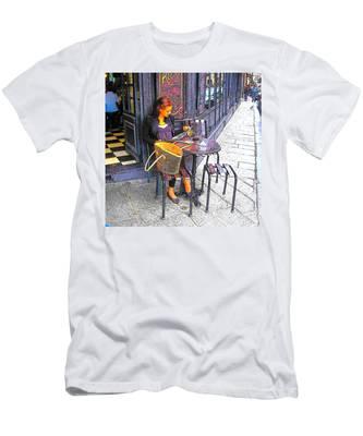 The Brasserie In Paris Men's T-Shirt (Athletic Fit)