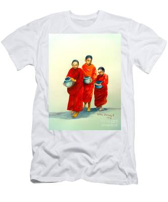 The Young Monks Men's T-Shirt (Athletic Fit)
