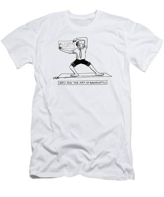 Zen And The Art Of Bankruptcy Men's T-Shirt (Athletic Fit)