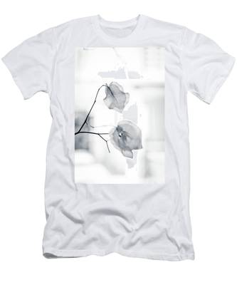 Men's T-Shirt (Athletic Fit) featuring the photograph Bougainvillea - High-key Lighting by Michael Goyberg