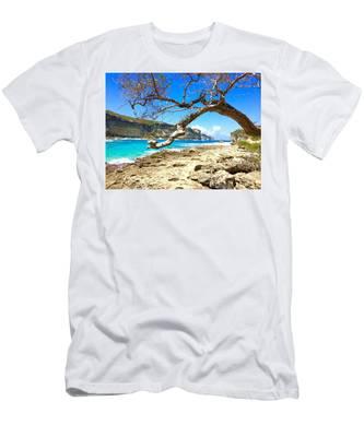 Porte D Enfer, Guadeloupe Men's T-Shirt (Athletic Fit)